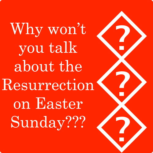 Easter Question